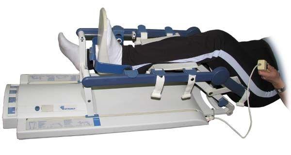 chondromalacja rzepki - rehabilitacja,szyna CPM